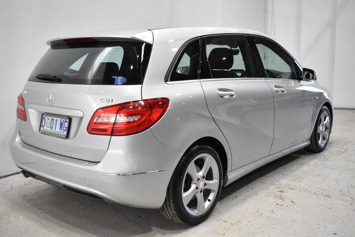 2012 Mercedes-Benz B-Class B200 CDI BlueEFFICIENCY W246 Polar Silver