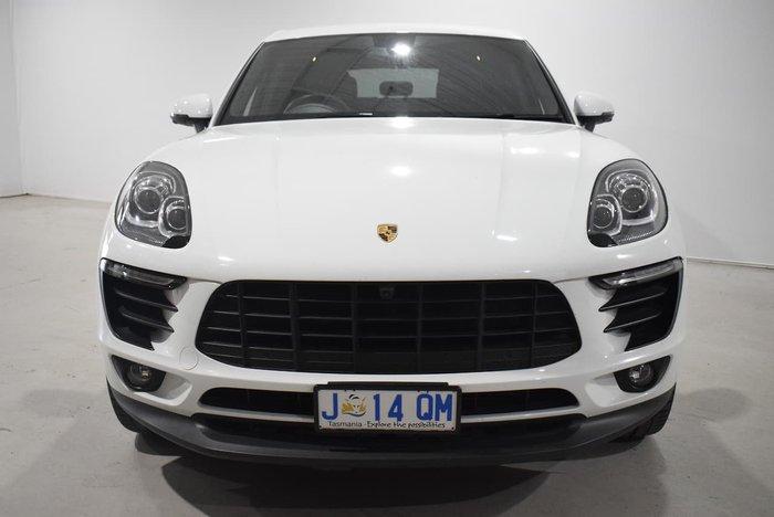 2017 Porsche Macan 95B MY18 AWD White