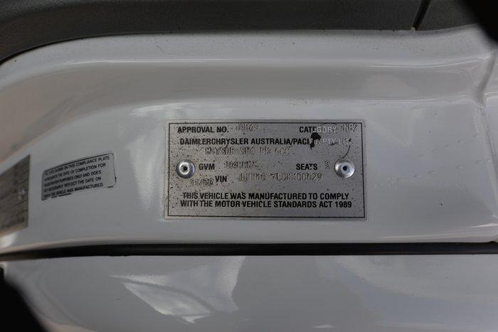 2007 MITSUBISHI FK 600 WHITE