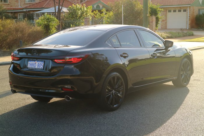 2021 Mazda 6 GT SP GL Series Jet Black