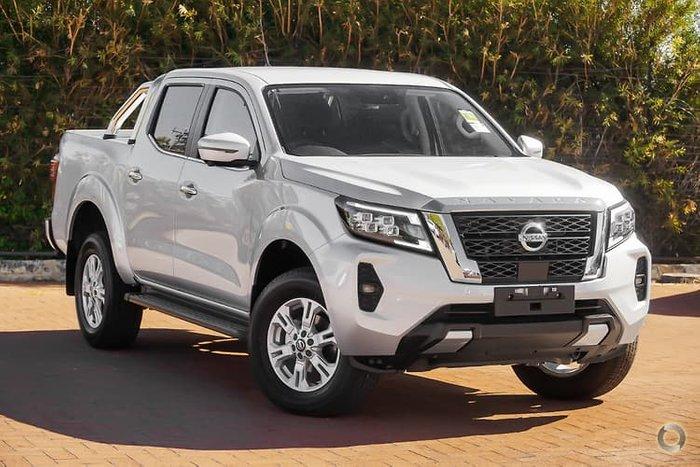 2021 Nissan Navara ST D23 4X4 Dual Range Brilliant Silver