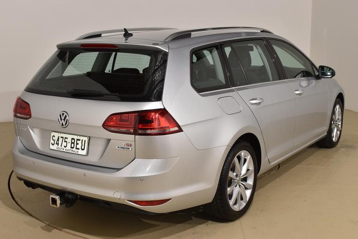 2014 Volkswagen Golf 103TSI Highline 7 MY15 Silver