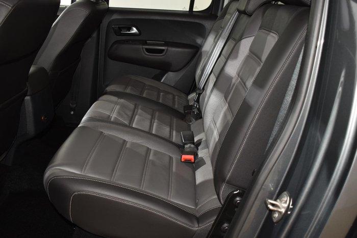 2018 Volkswagen Amarok TDI550 Highline 2H MY18 4X4 Constant Indium Grey