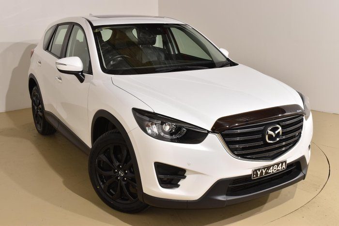2015 Mazda CX-5 Grand Touring KE Series 2 AWD Crystal White Pearl