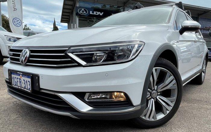 2016 Volkswagen Passat 140TDI Alltrack B8 MY17 Four Wheel Drive Pure White