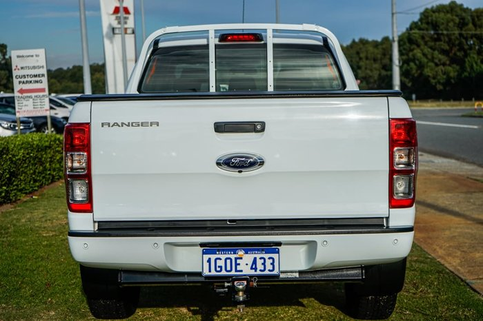 2018 Ford Ranger XL Hi-Rider PX MkII MY18 Frozen White