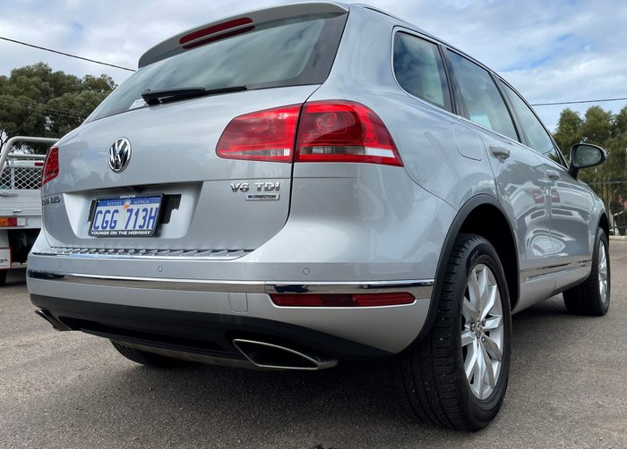 2015 Volkswagen Touareg 150TDI 7P MY15 Four Wheel Drive Light Silver