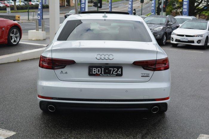 2018 Audi A4 S line B9 MY18 Glacier White