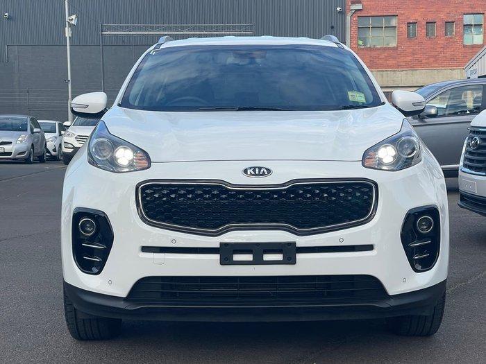 2016 Kia Sportage SLi QL MY17 White