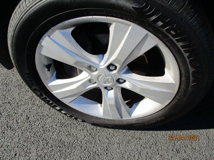 2012 Holden Captiva 7 CX CG Series II AWD White