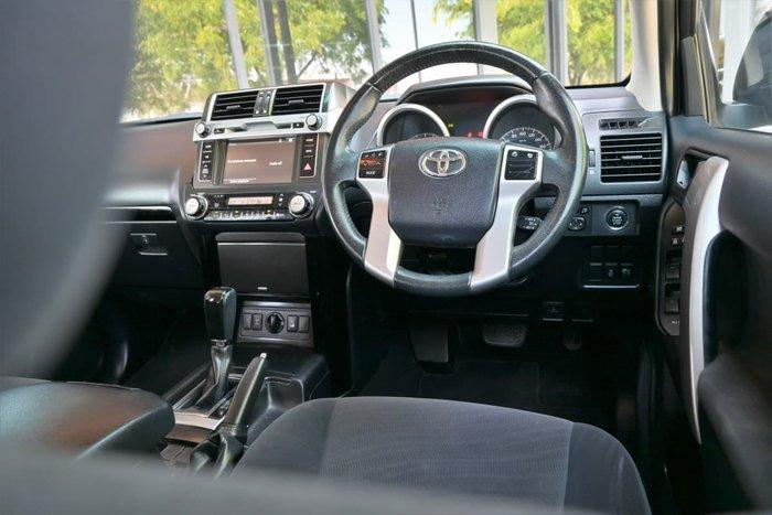2015 Toyota Landcruiser Prado GXL KDJ150R MY14 4X4 Dual Range Grey