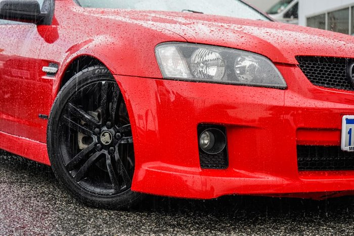 2009 Holden Commodore SS VE MY09.5 Red