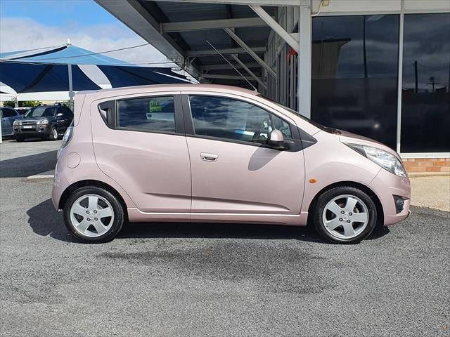 2010 Holden Barina Spark CD MJ MY11 PURPLE