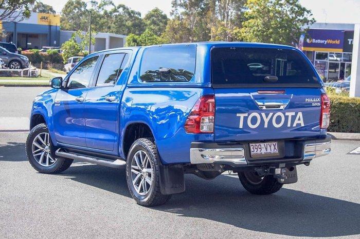 2015 Toyota Hilux SR5 GUN126R 4X4 Dual Range Blue