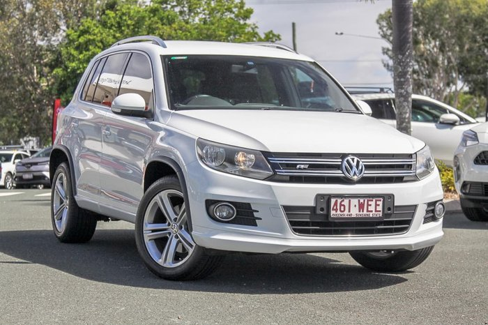 2015 Volkswagen Tiguan 132TSI 5N MY15 Four Wheel Drive White