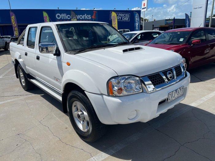 2013 Nissan Navara ST-R D22 S5 4X4 Polar White