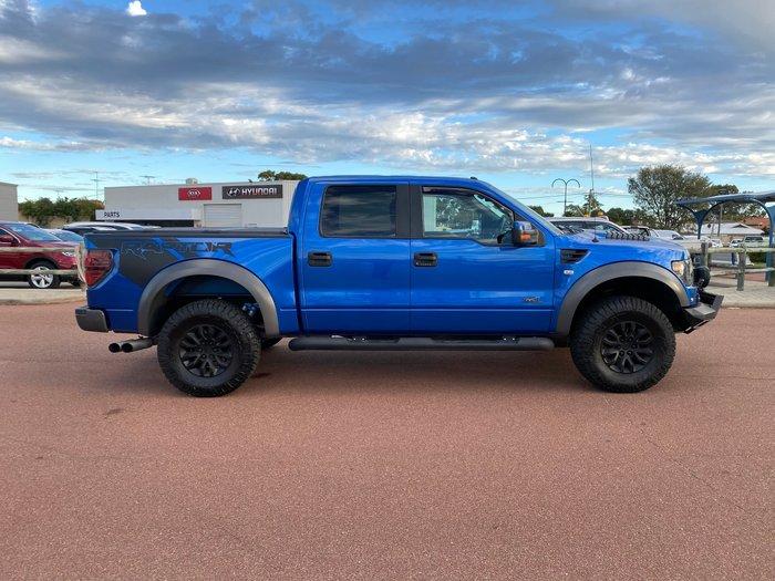 2012 Ford F150 SVT Raptor (No Series) Blue