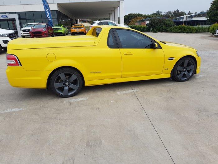 2011 Holden Ute SV6 Thunder VE Series II Yellow