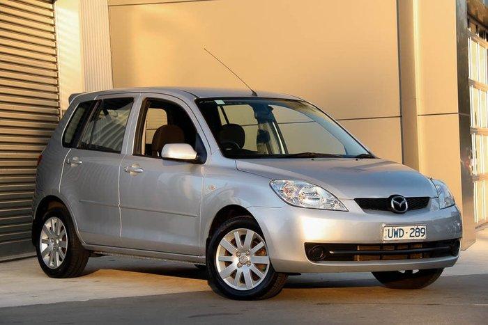 2007 Mazda 2 Maxx DY Series 2 Sunlight Silver