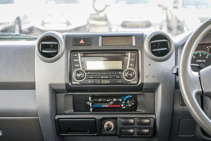2015 Toyota Landcruiser Workmate VDJ79R 4X4 Dual Range French Vanilla
