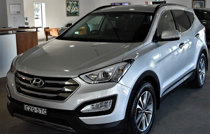 2014 Hyundai Santa Fe Elite DM2 MY15 4X4 On Demand Silver