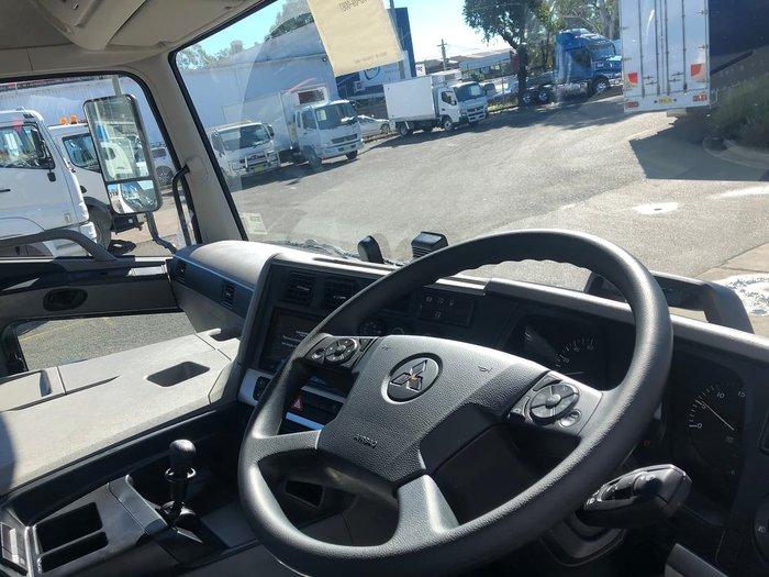 2021 FUSO SHOGUN 360HP 6X2 CAB CHASSIS White