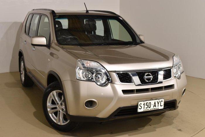 2012 Nissan X-TRAIL ST T31 Series IV 4X4 On Demand Gold