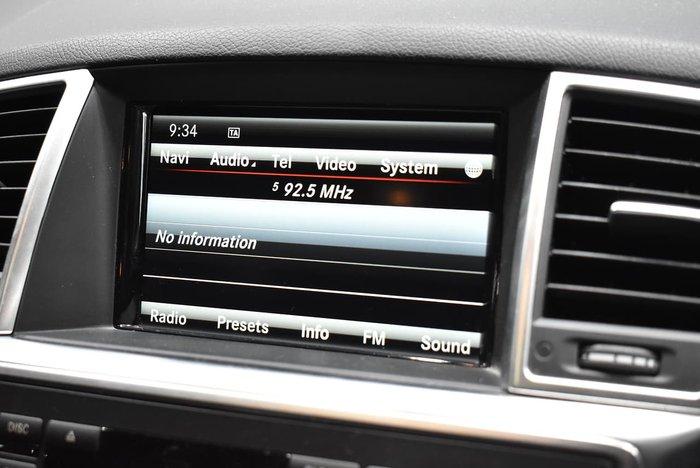 2015 Mercedes-Benz M-Class ML350 BlueTEC W166 MY15 4X4 Constant Palladium silver