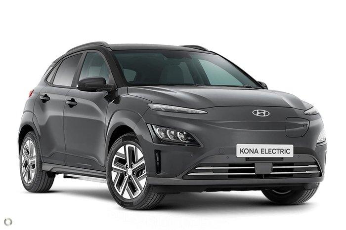 2021 Hyundai Kona electric Highlander OS.V4 MY21 Grey