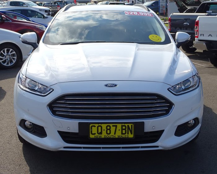 2018 Ford Mondeo Ambiente MD MY18.25 White