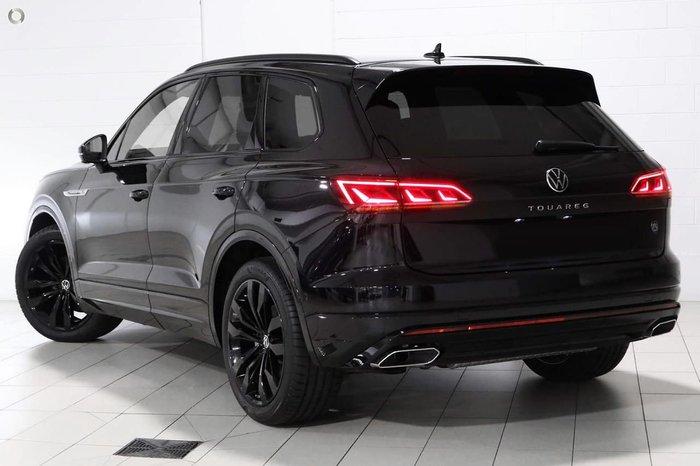 2021 Volkswagen Touareg 210TDI Wolfsburg Edition CR MY21 Four Wheel Drive Black