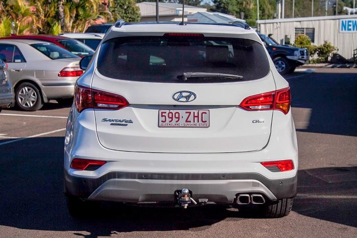 2017 Hyundai Santa Fe Highlander DM3 Series II MY17 4X4 On Demand White