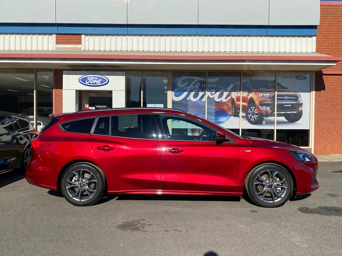2019 Ford Focus ST-Line SA MY20.25 Red