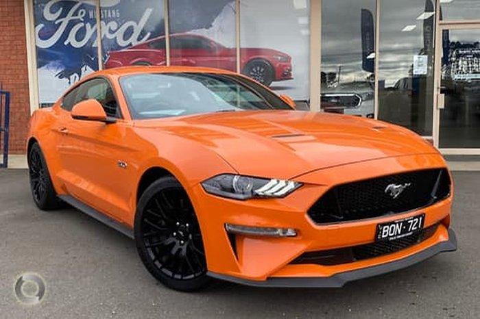 2020 Ford Mustang GT FN MY20 Orange