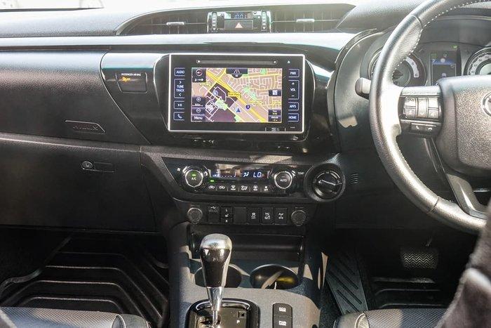 2019 Toyota Hilux Rogue GUN126R 4X4 Dual Range Crystal Pearl