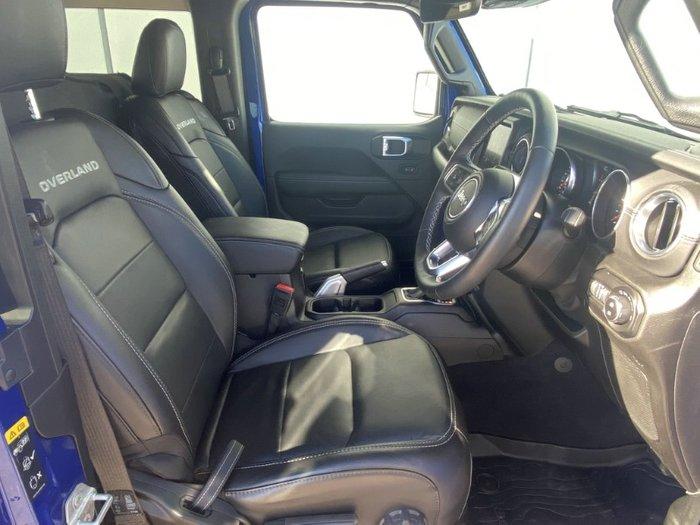 2019 Jeep Wrangler Overland JL MY20 4X4 Dual Range OCEAN BLUE METALLIC