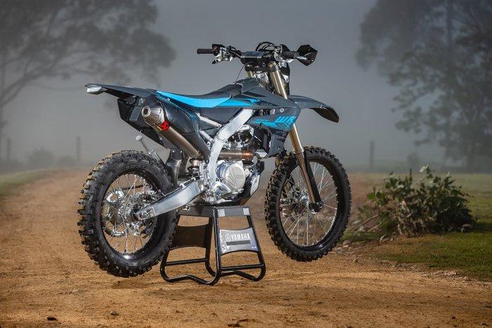 2021 Yamaha WR450FSP WR Aussie Edition Black
