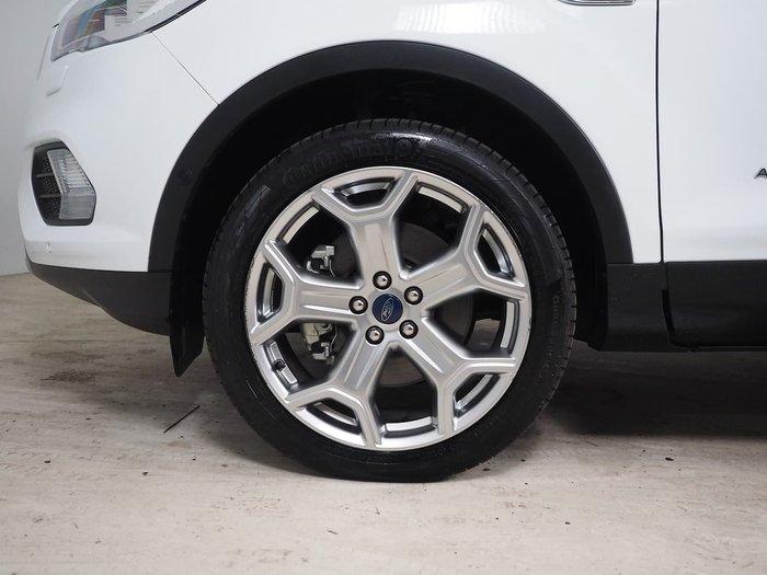 2019 Ford Escape Titanium ZG MY19.75 AWD White