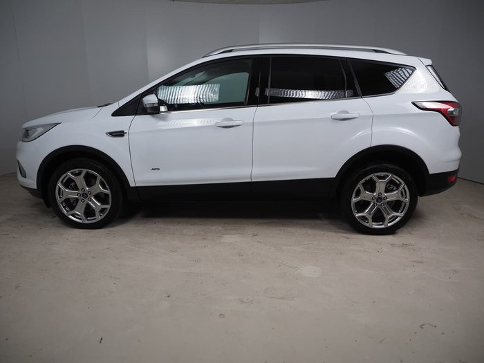 2019 Ford Escape Titanium ZG MY19.75 AWD White