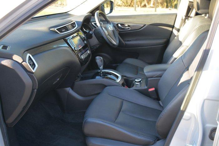 2014 Nissan X-TRAIL Ti T32 4X4 On Demand Brilliant Silver