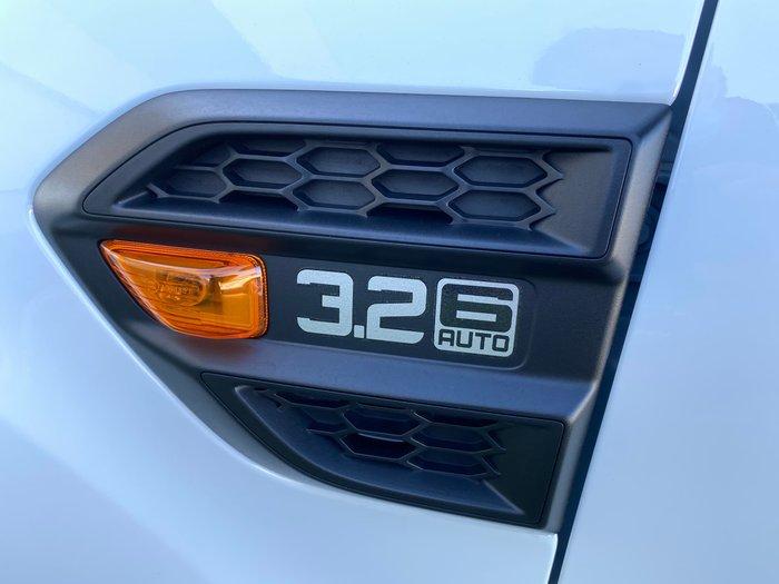 2018 Ford Ranger XLS PX MkIII MY19 4X4 Dual Range Frozen White