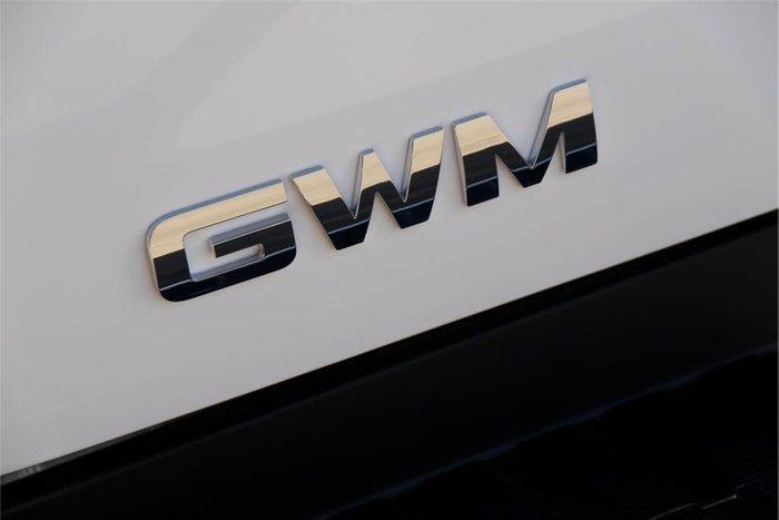 2021 GWM Ute Cannon-L NPW MY20 PURE WHITE