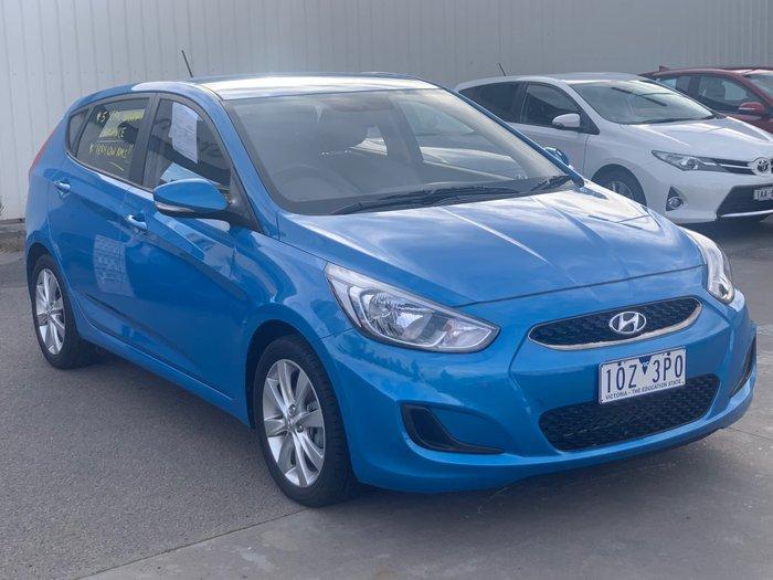 2018 Hyundai Accent Sport RB6 MY19 Blue Lagoon