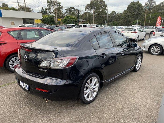 2010 Mazda 3 SP25 BL Series 1 MY10 Black