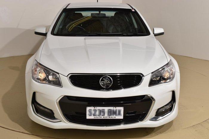 2017 Holden Commodore SV6 VF Series II MY17 Heron White