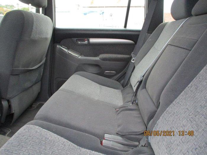 2005 Toyota Landcruiser Prado GXL KZJ120R 4X4 Constant Silver