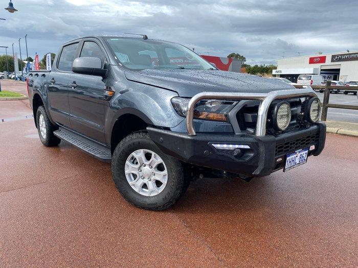 2016 Ford Ranger XLS PX MkII 4X4 Dual Range Metropolitan Grey