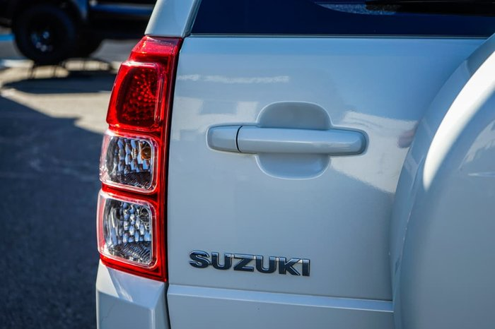 2016 Suzuki Grand Vitara Sport JB 4X4 Dual Range White Pearl
