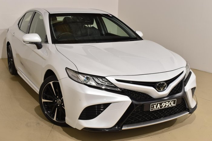 2019 Toyota Camry SX ASV70R Frosted White
