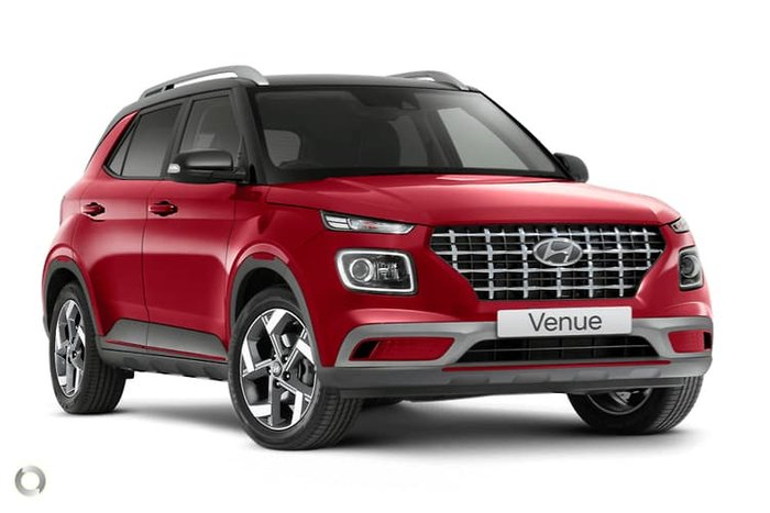 2021 Hyundai Venue Elite QX.V3 MY21 Fiery Red